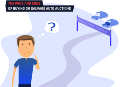 the pros and cons of salvage auto auctions