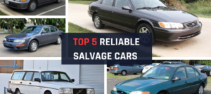 Top 5 reliable salvage cars